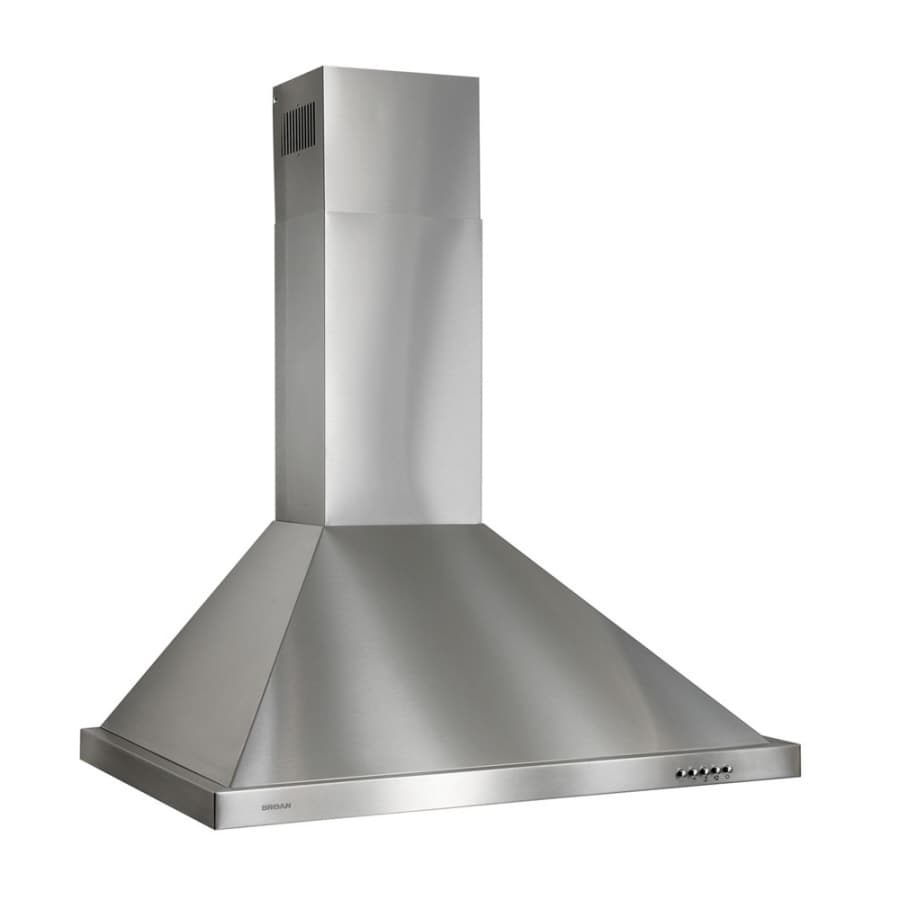 Etonnant Broan Convertible Wall Mounted Range Hood (Stainless Steel) (Common: 36