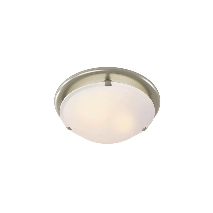 Shop Broan 2 5 Sone 80 Cfm Brushed Nickel Bathroom Fan With Light At