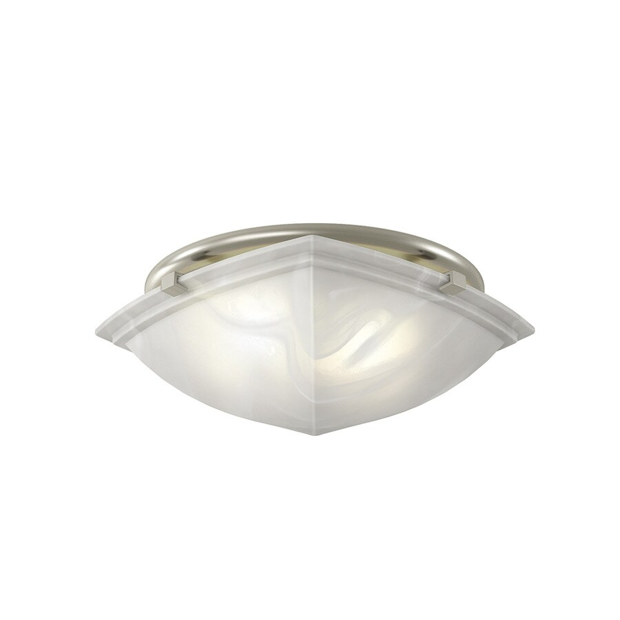 bathroom lights and fans shop broan 2 5 sone 80 cfm brushed nickel bathroom fan 16149
