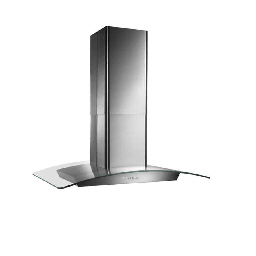 Shop Broan Convertible Island Range Hood Stainless Steel