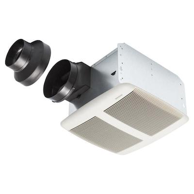 Broan 1.5-Sone 140-CFM White Bathroom Fan ENERGY STAR at ...
