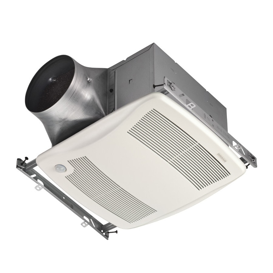 Broan 0.3-Sone 110-CFM White Bathroom Fan ENERGY STAR