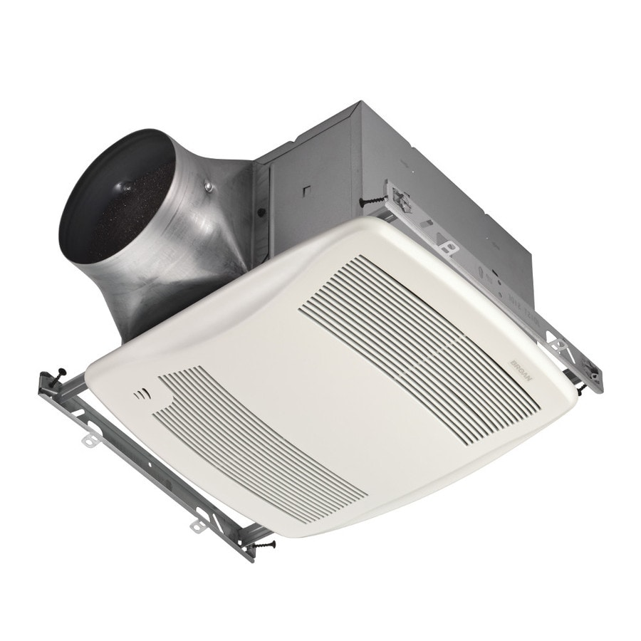 Broan 0.3-Sone 110-CFM White Bathroom Fan ENERGY STAR