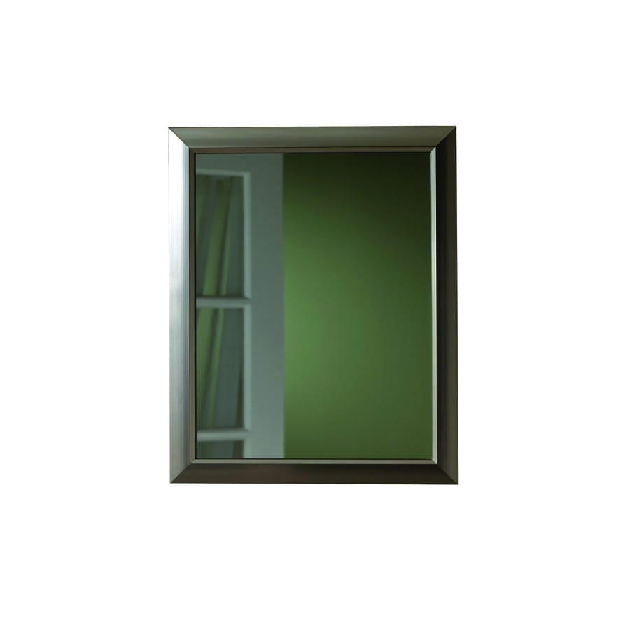 Broan Barrington 15 In X 19 Brushed Nickel Metal Surface Mount And Recessed
