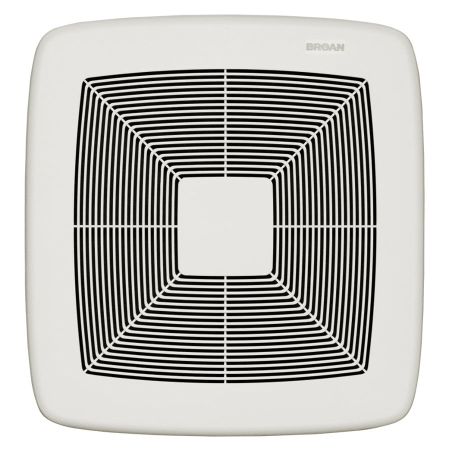 Broan ultra pro series 0 3 sone 80 cfm white polymeric - Retrofit bathroom fan with light ...