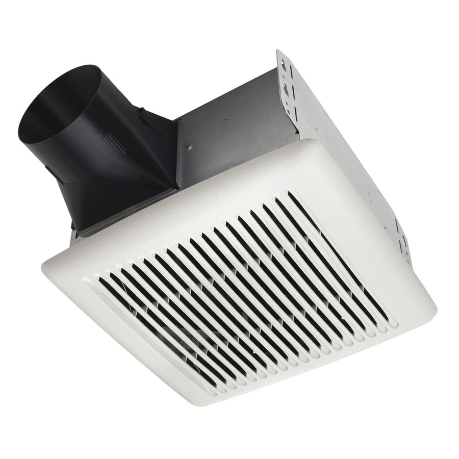 Broan 0.5-Sone 50-CFM White Bathroom Fan ENERGY STAR