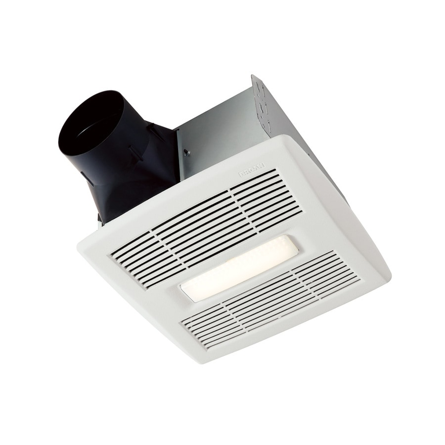 Broan 1.5-Sone 80-CFM White Bathroom Fan ENERGY STAR