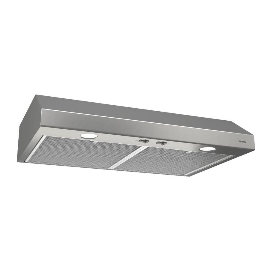 Broan Undercabinet Range Hood (Stainless Steel) (Common: 36 In; Actual