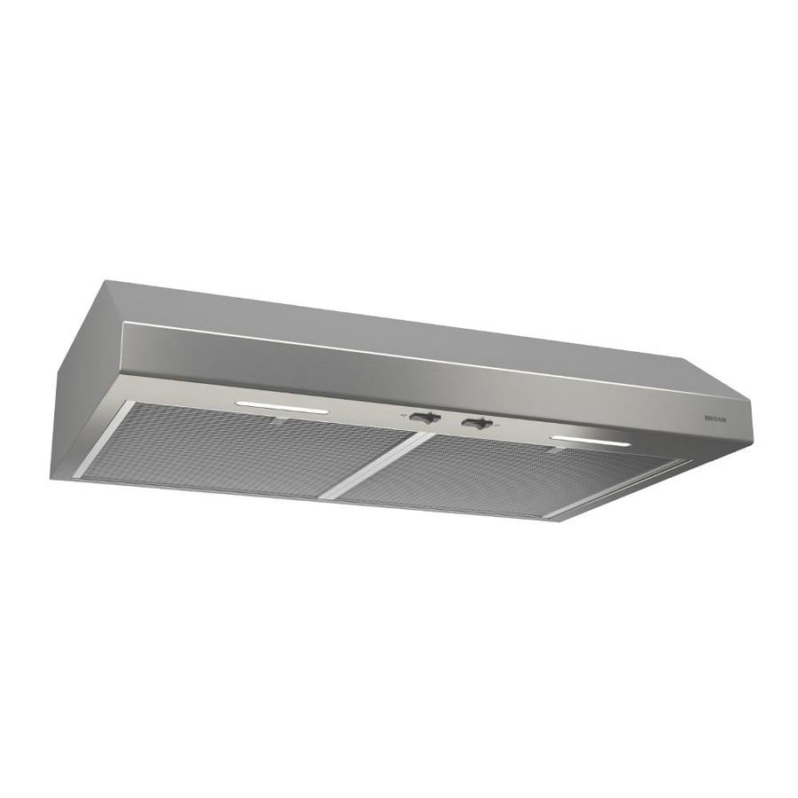 Broan Undercabinet Range Hood (Stainless steel) (Common: 30-in; Actual: 29.87-in)