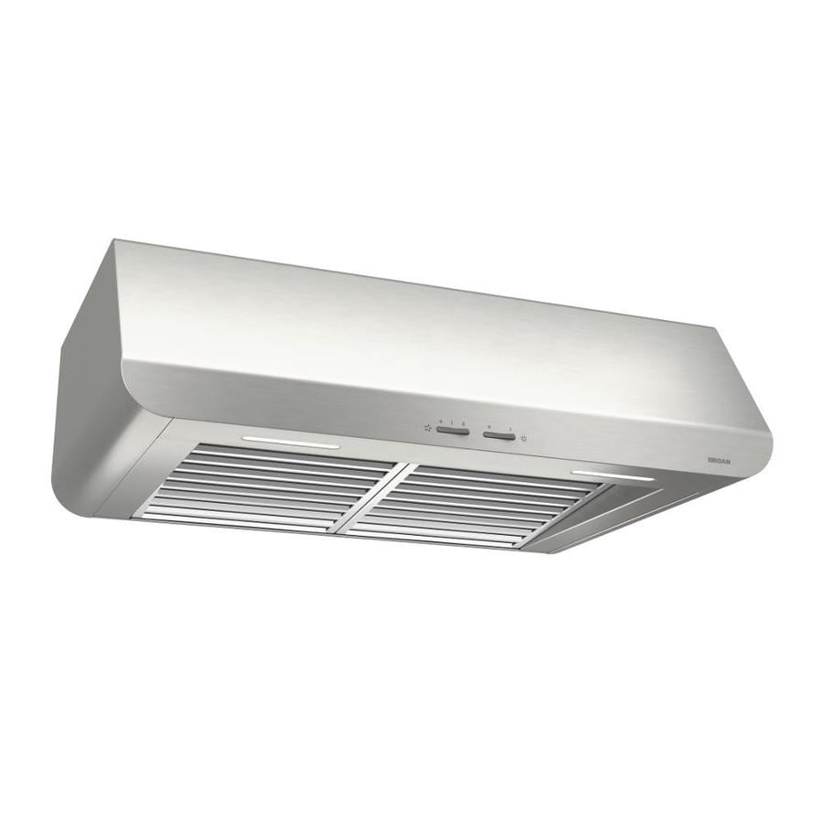 Broan Undercabinet Range Hood (Stainless steel) (Common: 36-in; Actual: 35.87-in)