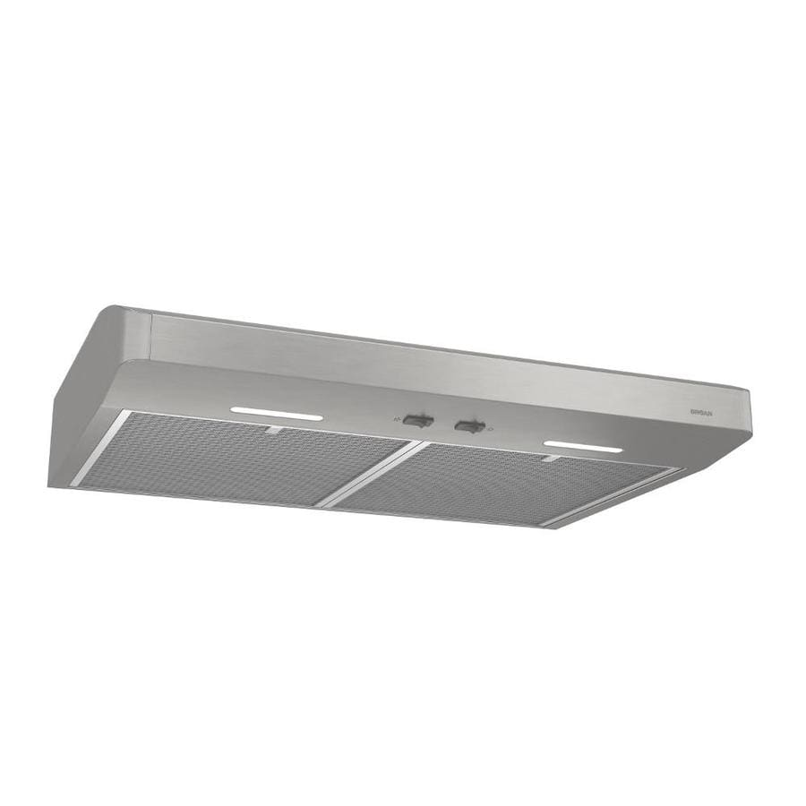 com inch broan qml stainless cabinet amazon under dp life cfm style image range hood series convertible