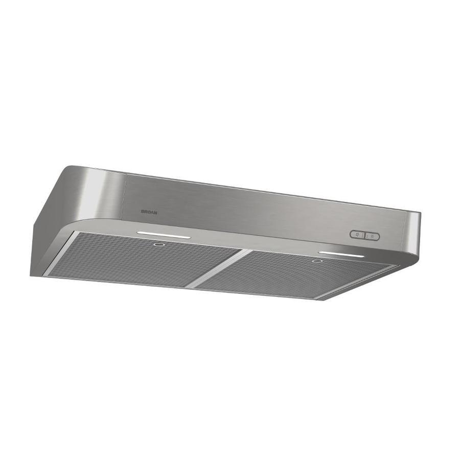 Shop broan undercabinet range hood stainless steel for Broan vent a hood