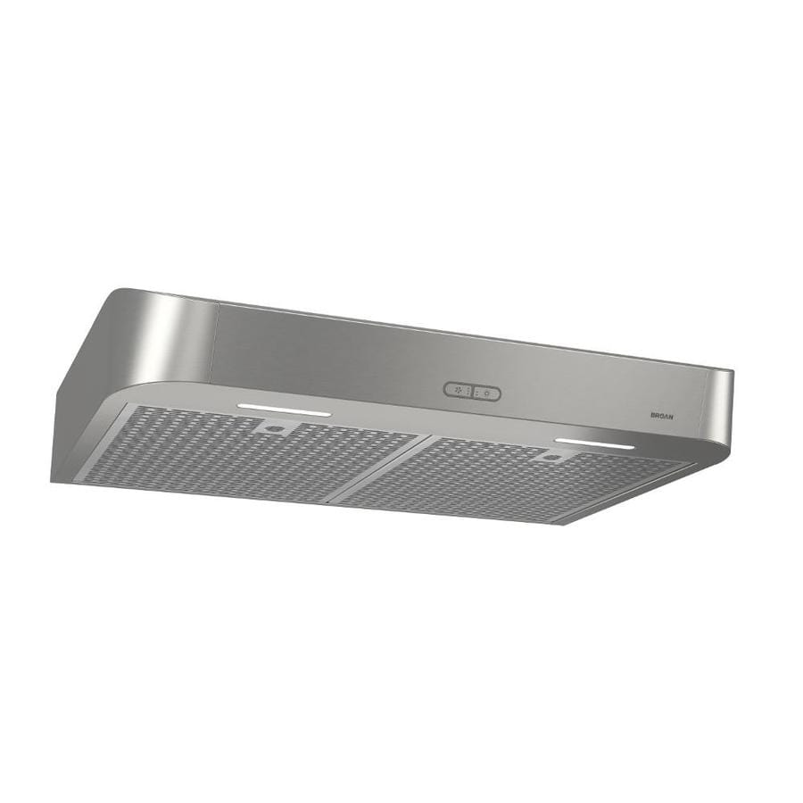 Broan Undercabinet Range Hood (Stainless) (Common: 30-in; Actual:
