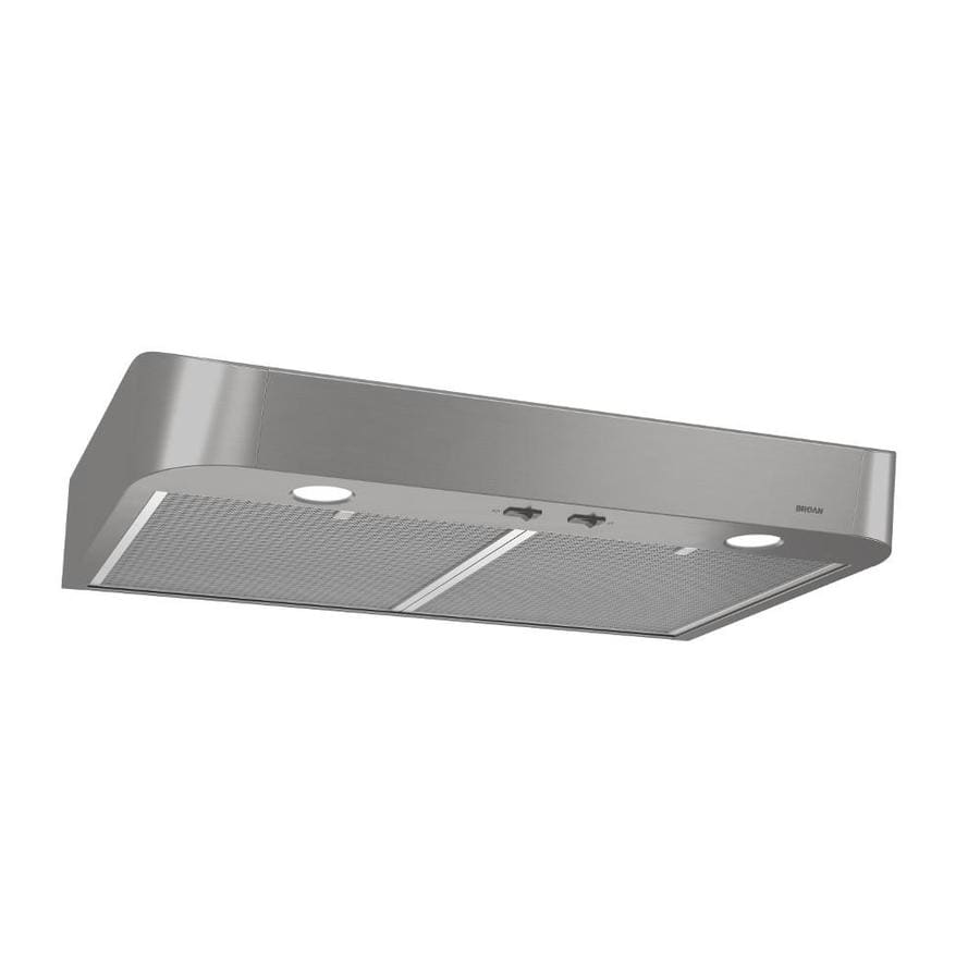 Broan Undercabinet Range Hood Stainless Common 30 In Actual