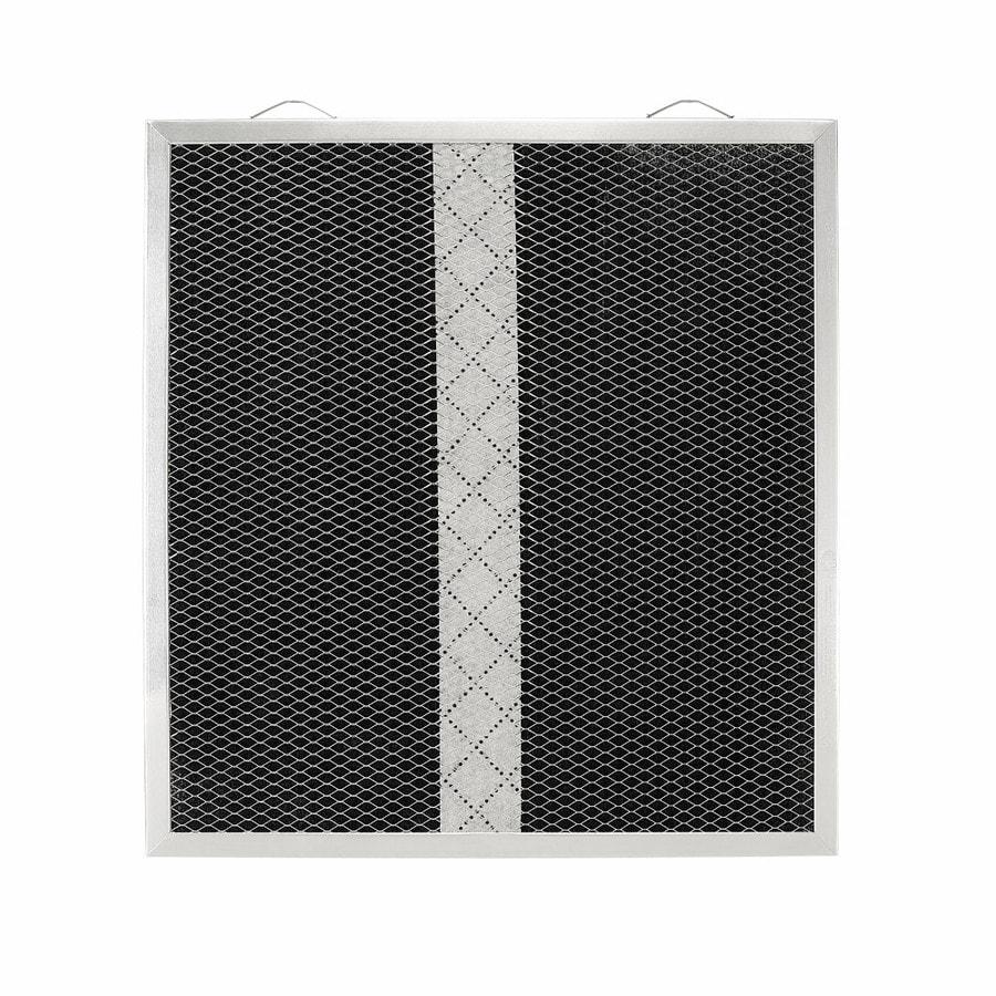 Broan Duct-Free Undercabinet Range Hood Air Filter (Metallic/Black)
