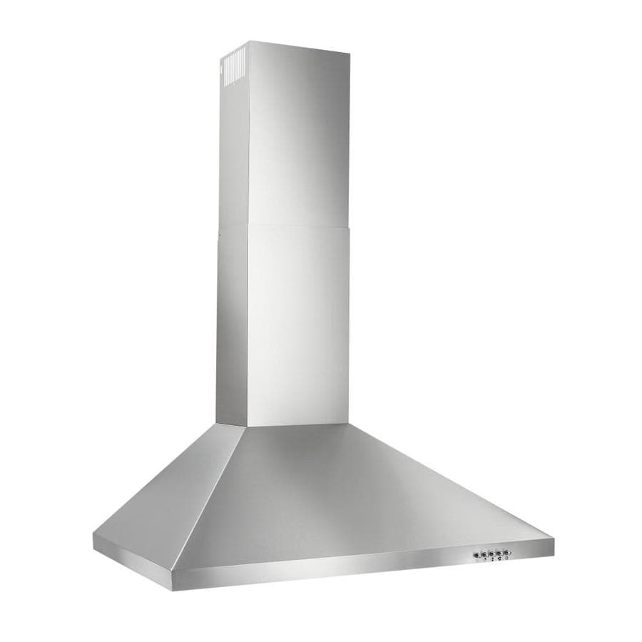 Broan Convertible Wall-Mounted Range Hood (Stainless steel) (Common: 30-in; Actual: 29.528-in)