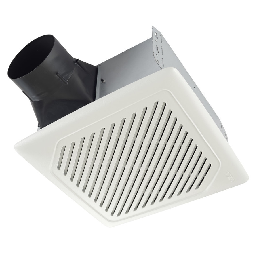 Broan Invent 1 Sone 110 Cfm White Bathroom Fan Energy Star