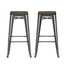 Brilliant Bar Height 27 In To 35 In Modern Contemporary Bar Stools Uwap Interior Chair Design Uwaporg
