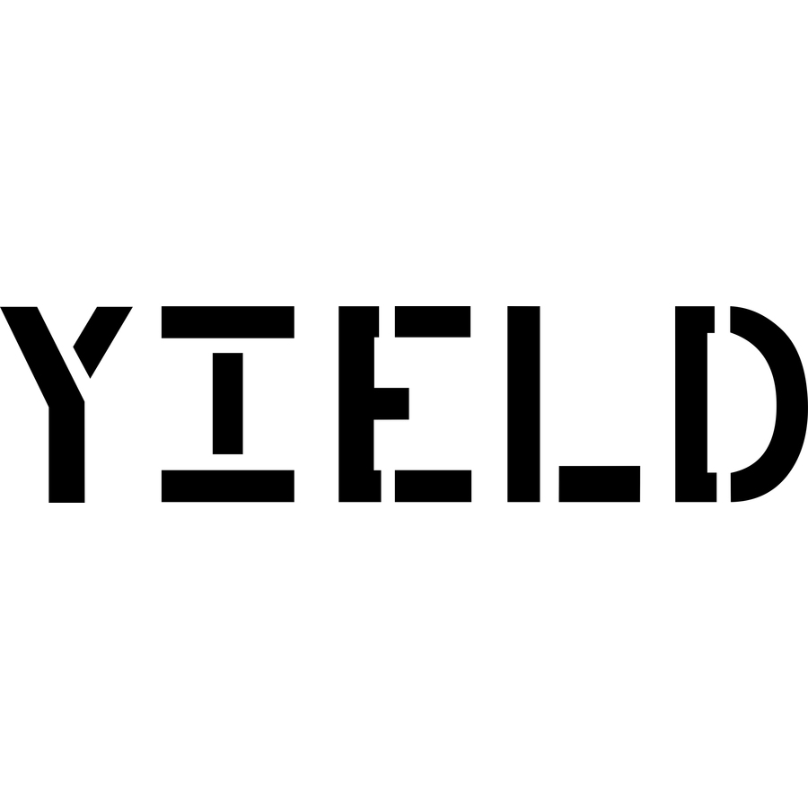 "Stencil Ease 18"" Yield Sign Stencil"