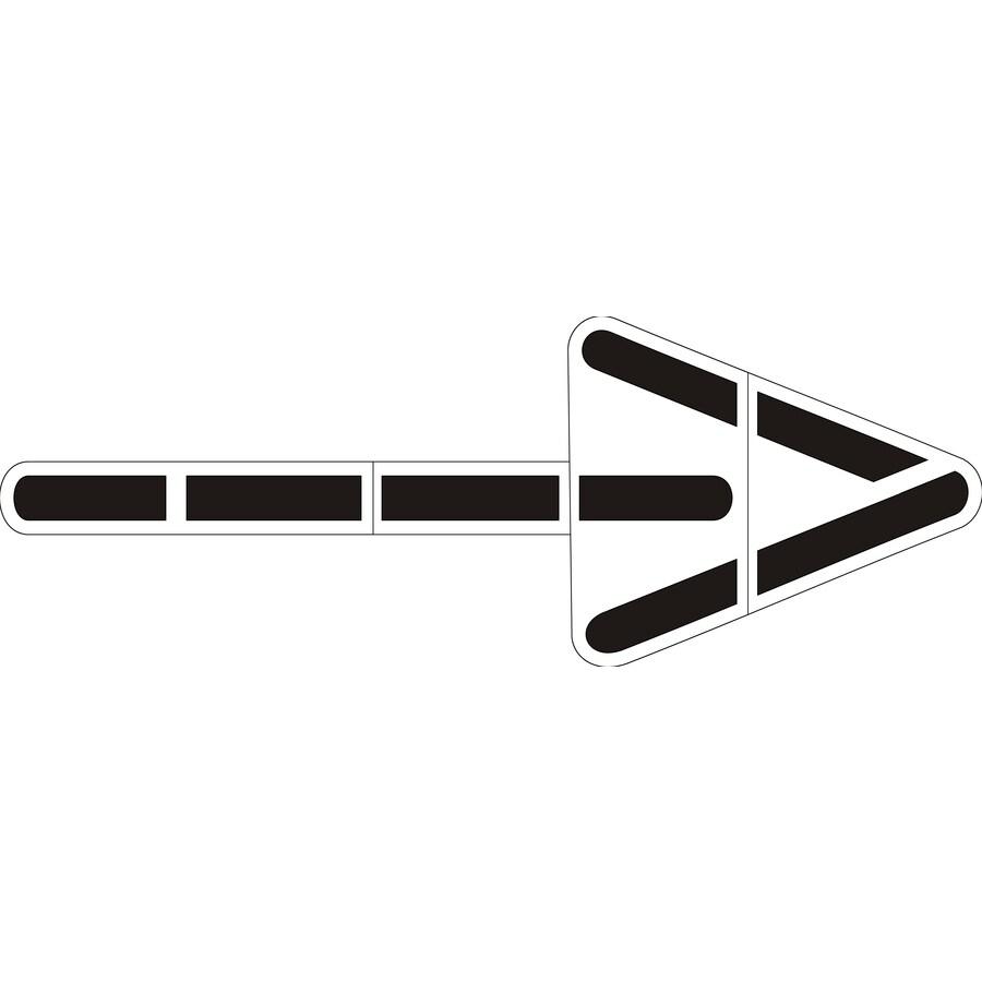 Stencil Ease 23-1/2' Wrong Way Arrow
