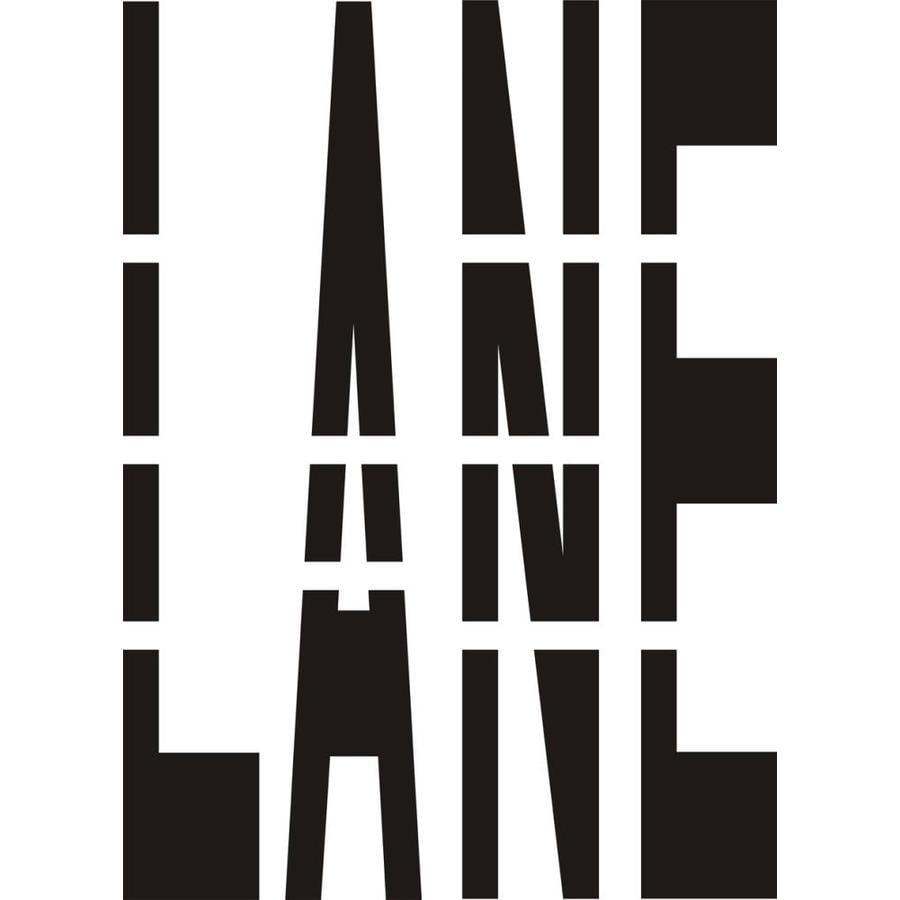 Stencil Ease 48-in Lane Paint Stencil