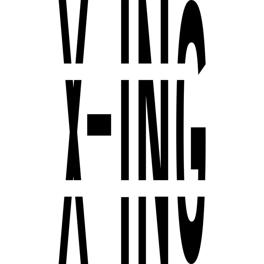 "Stencil Ease 72"" X-ing Stencil"