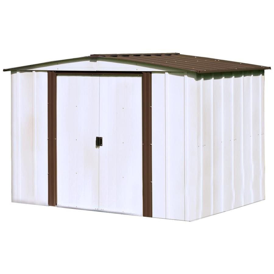 arrow storage sheds arrow 10 1 4 ft x 12 1 8 ft. Black Bedroom Furniture Sets. Home Design Ideas