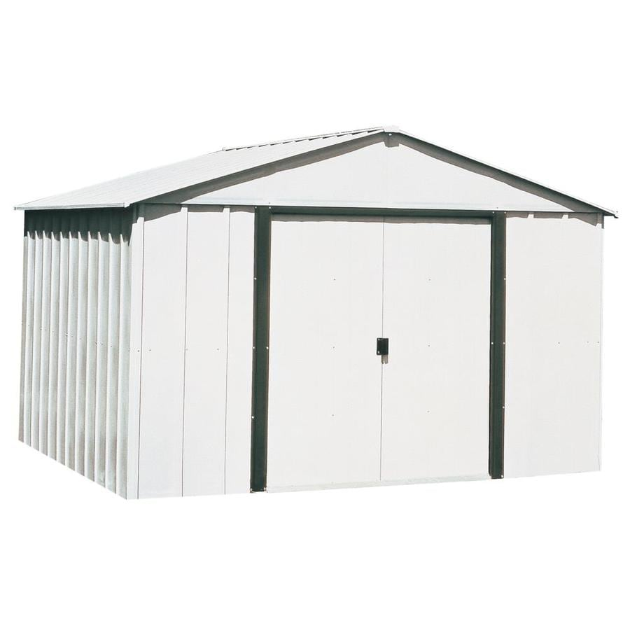 Garden Sheds Virginia Beach shop arrow (common: 10-ft x 8-ft; interior dimensions: 9.85-ft x