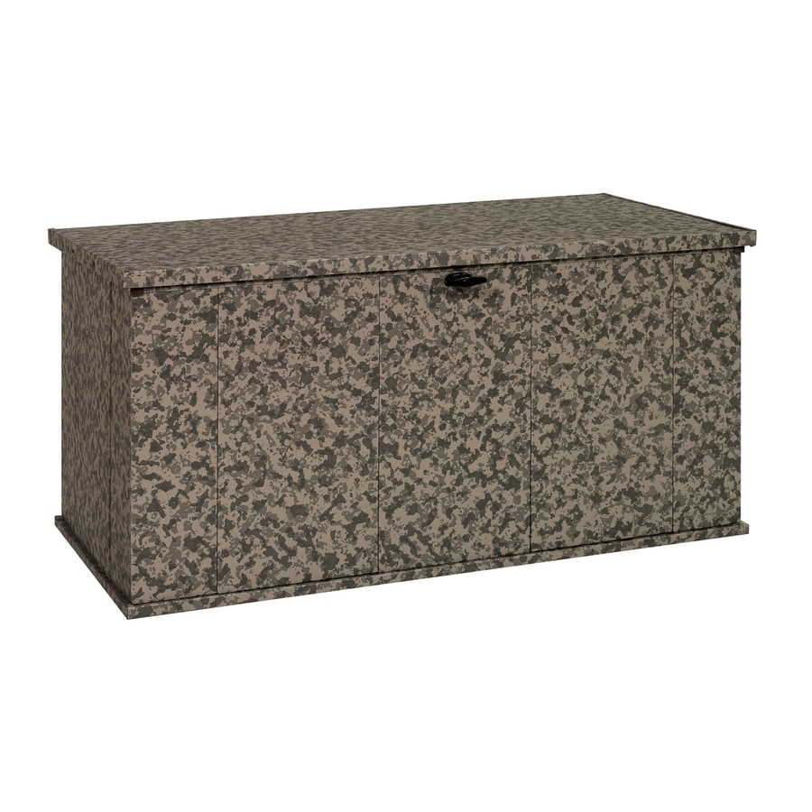 STORBOSS Bull Dog Storage 29.8-in L x 57.4-in W 135.5-Gallon Camouflage Steel Deck Box