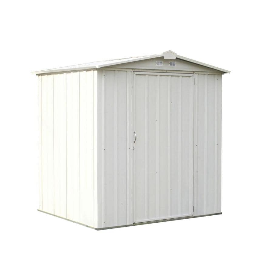 Shop arrow common 6 ft x 5 ft interior dimensions 5 for Garden shed 5 x 4