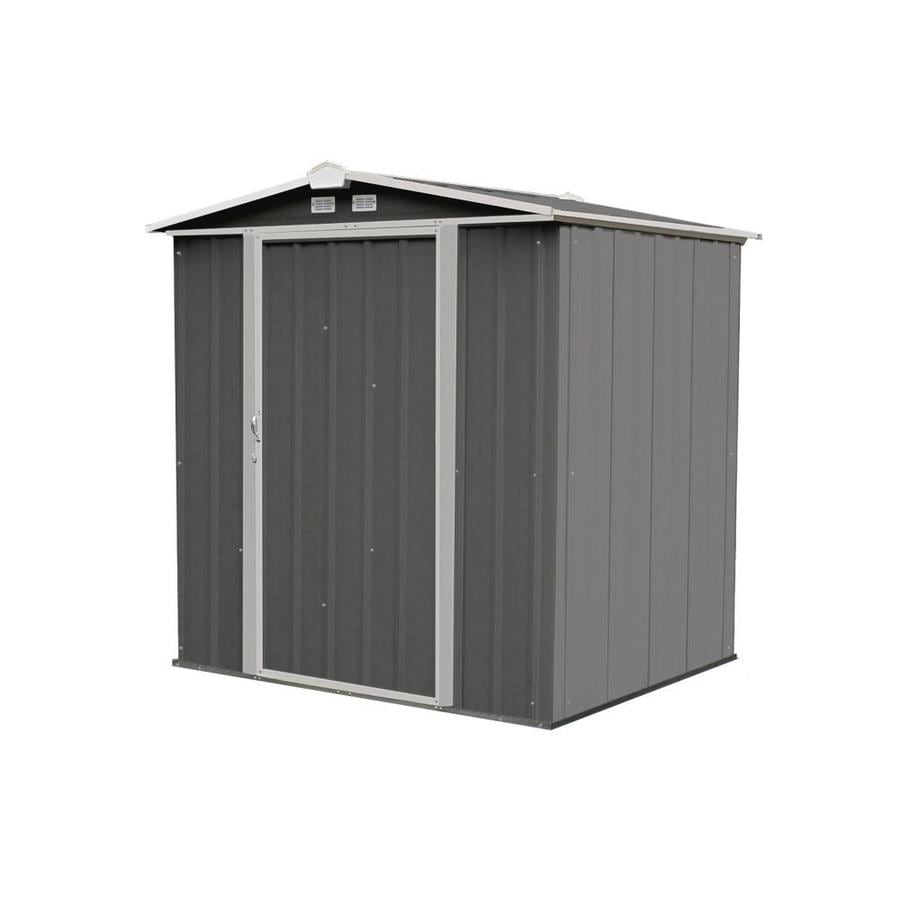 Garden Sheds 9x8 shop metal storage sheds at lowes