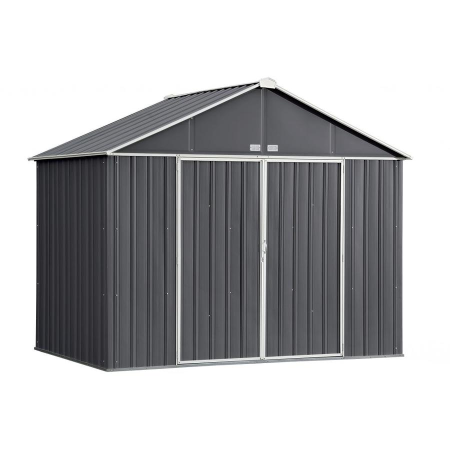 Arrow (Common 10-ft x 7-ft; Interior Dimensions 9.5  sc 1 st  Loweu0027s & Shop Metal Storage Sheds at Lowes.com