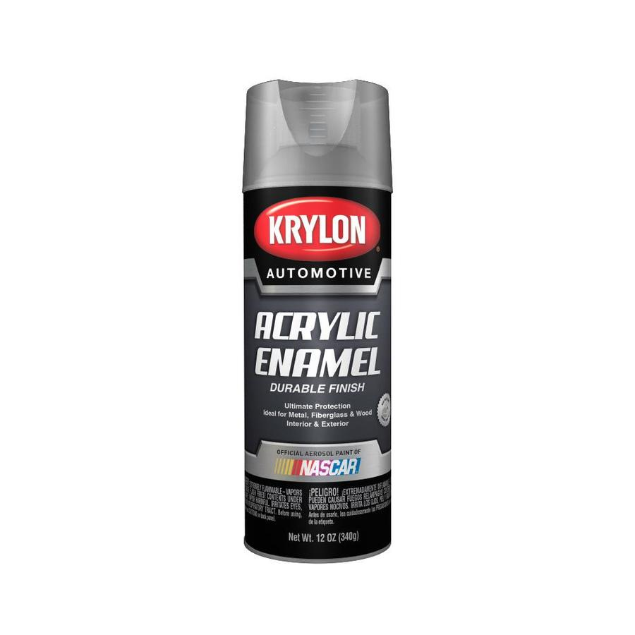 Krylon Automotive Clear Enamel Spray Paint (Actual Net Contents: 12-oz)