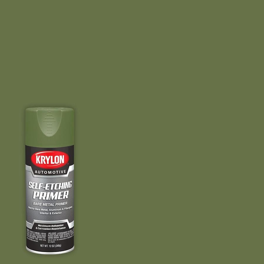 Krylon Automotive Green Primer Spray Paint (Actual Net Contents: 12-oz)