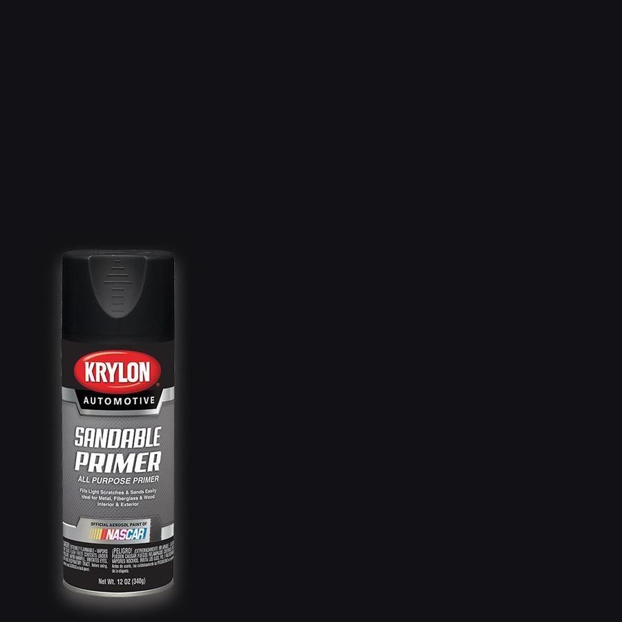 Krylon Automotive Black Primer Spray Paint (Actual Net Contents: 12-oz)