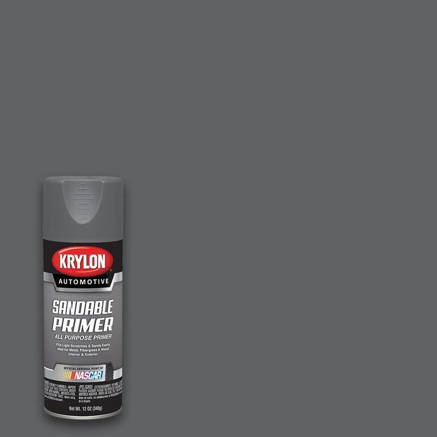 Krylon Gray Primer Spray Paint (Actual Net Contents: 12-oz)