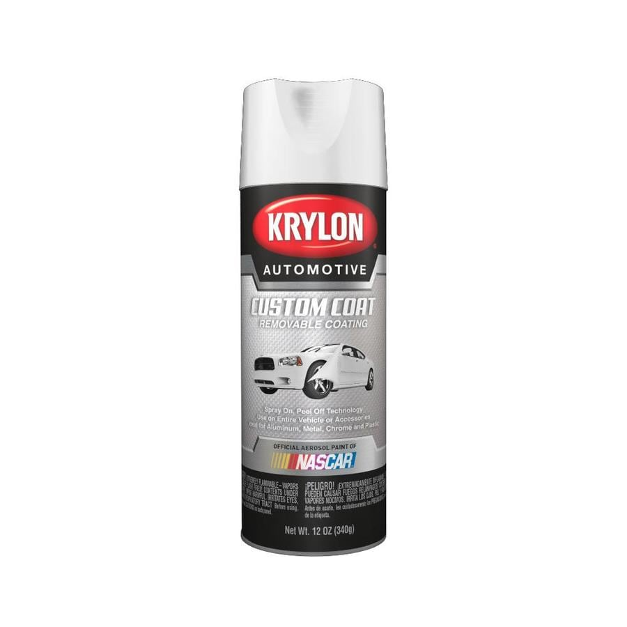Krylon Automotive White Spray Paint (Actual Net Contents: 12-oz)