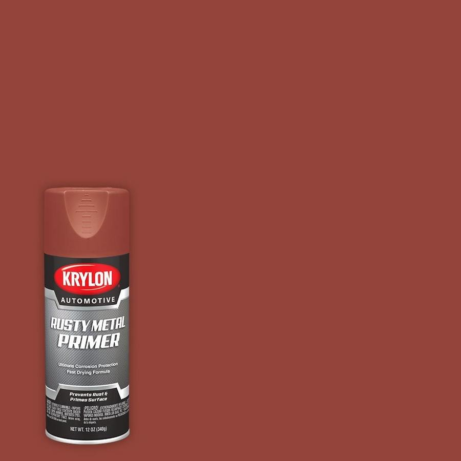 Krylon High Performance Automotive Flat Red Spray Paint Actual Net Contents 12 Oz