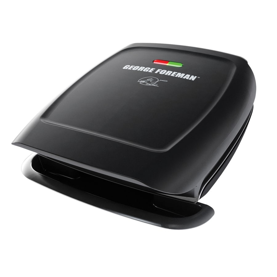 George Foreman Classic 7.75-in L x 7.75-in W Non-Stick Contact Grill