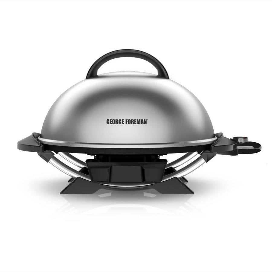George Foreman 15.5-in L x 15.5-in W Non-Stick Contact Grill