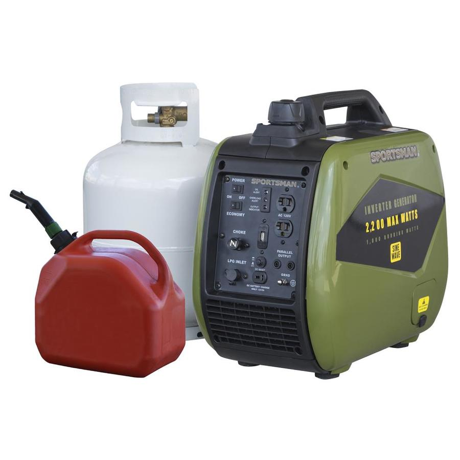 Portable Propane Fuel Inverter Generator Portable Oxygen For You Portable Oxygen Concentrators Approved For Air Travel Portable Closet White: Sportsman 1800-Running-Watt Inverter Gasoline/Propane
