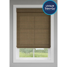 LEVOLOR Trim+Go Terracotta Light Filtering Cordless Roman Shade (Actual: 23.5-in x 64-in)