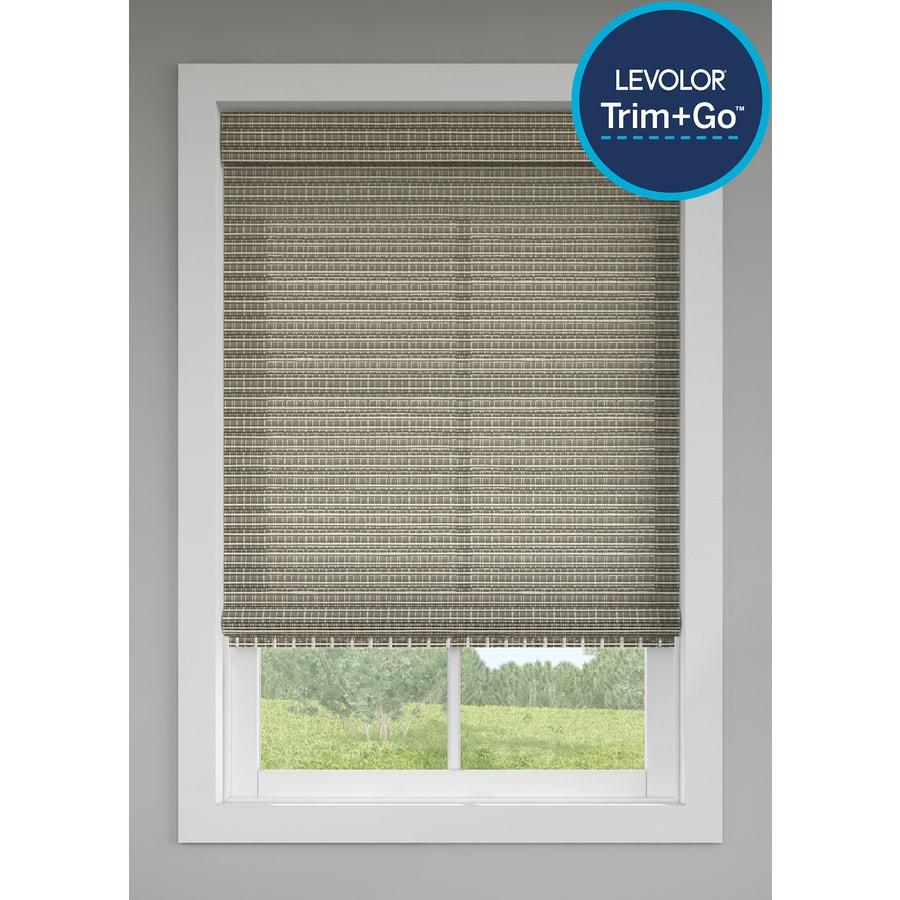Levolor Grey Store Light Filtering Cordless Bamboo Natural
