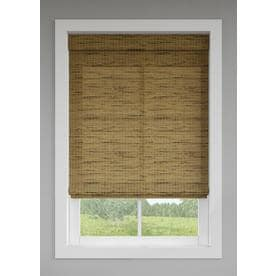 a08f6522757 LEVOLOR Tatami Light Filtering Cordless Bamboo Natural Shade (Common  36-in  x 64