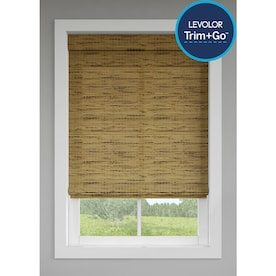 LEVOLOR Tatami Light Filtering Cordless Natural Shade (Actual: 59.5-in x 64-in)
