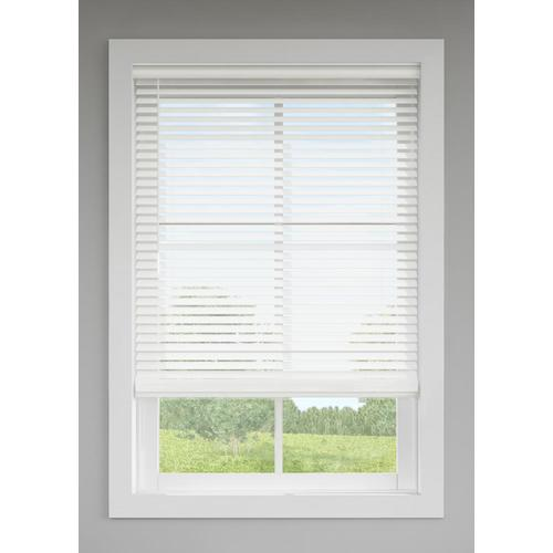 Levolor Trim Go 2 In Cordless White Faux Wood Room
