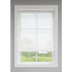 LEVOLOR 2-in Cordless White Faux Wood Blinds (Common: 72-in; Actual: 71.5-in x 72-in)