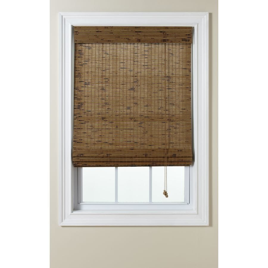 bamboo shades new marvelous blinds roll of woven window depot sun up home outdoor