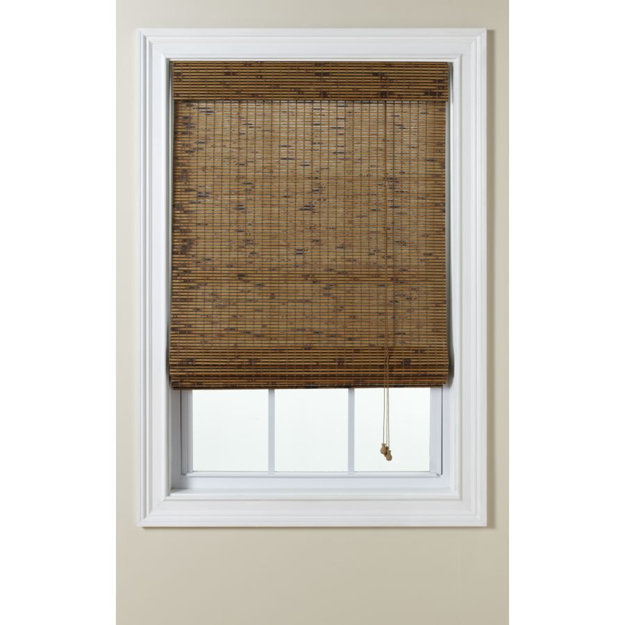 Levolor Tatami Light Filtering Woven Wood Natural Roman Shade (Common: 48-in; Actual: 47.5-in x 60-in)