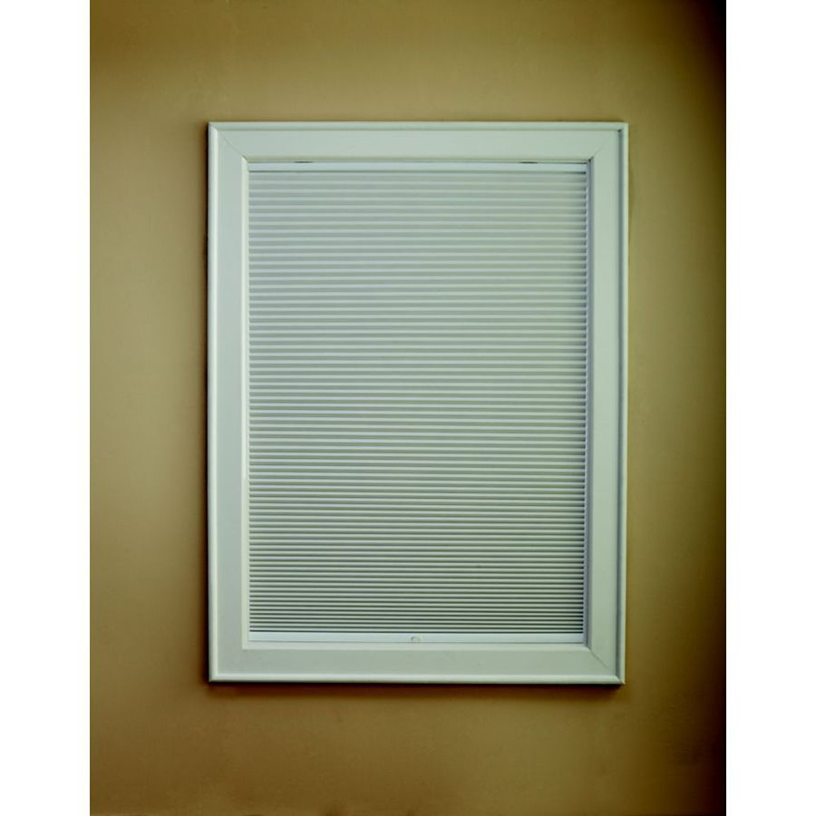 Custom Size Now by Levolor Snow Light Filtering Cordless Polycotton Cellular Shade (Common 36-in; Actual: 35.5-in x 72-in)